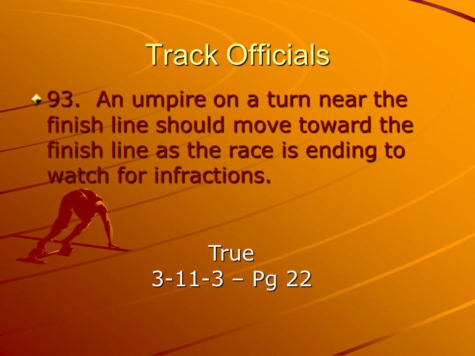 Track Officials 93.