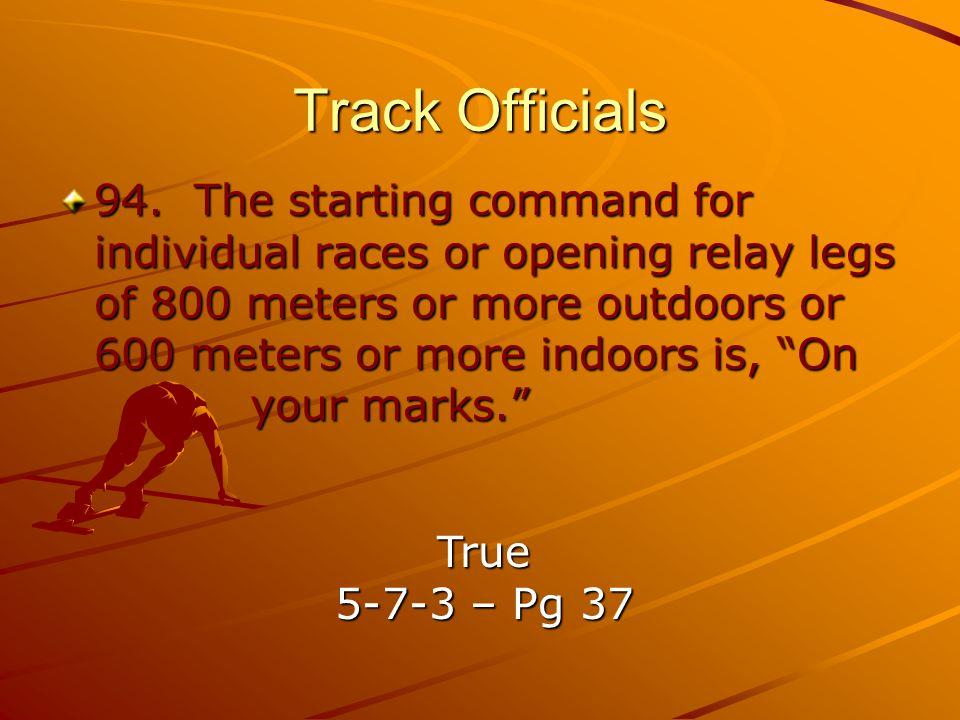 Track Officials 94.