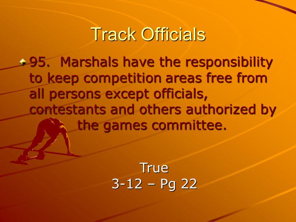 Track Officials 95.