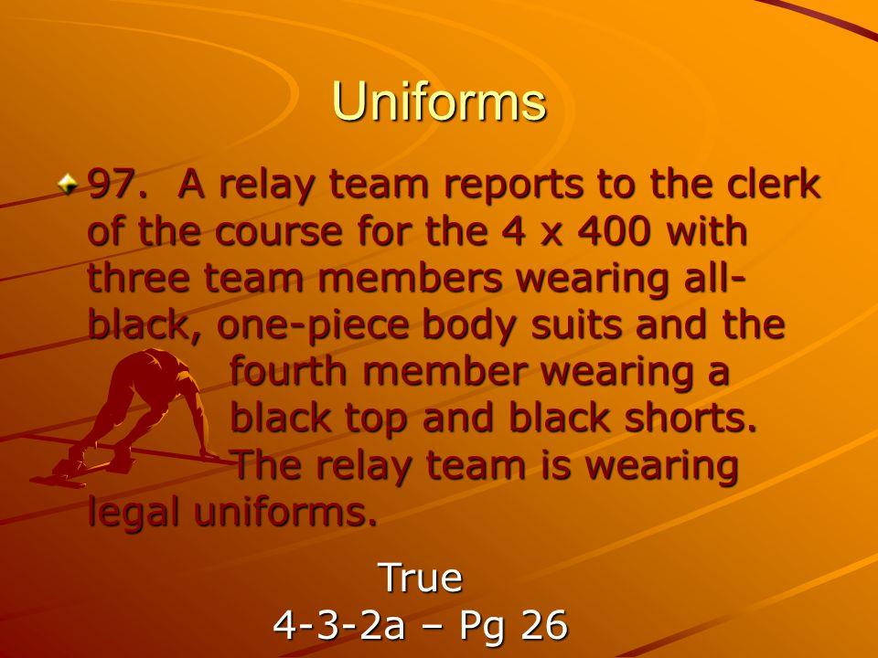 Uniforms 97.