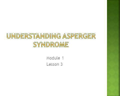 Module 1 Lesson 3