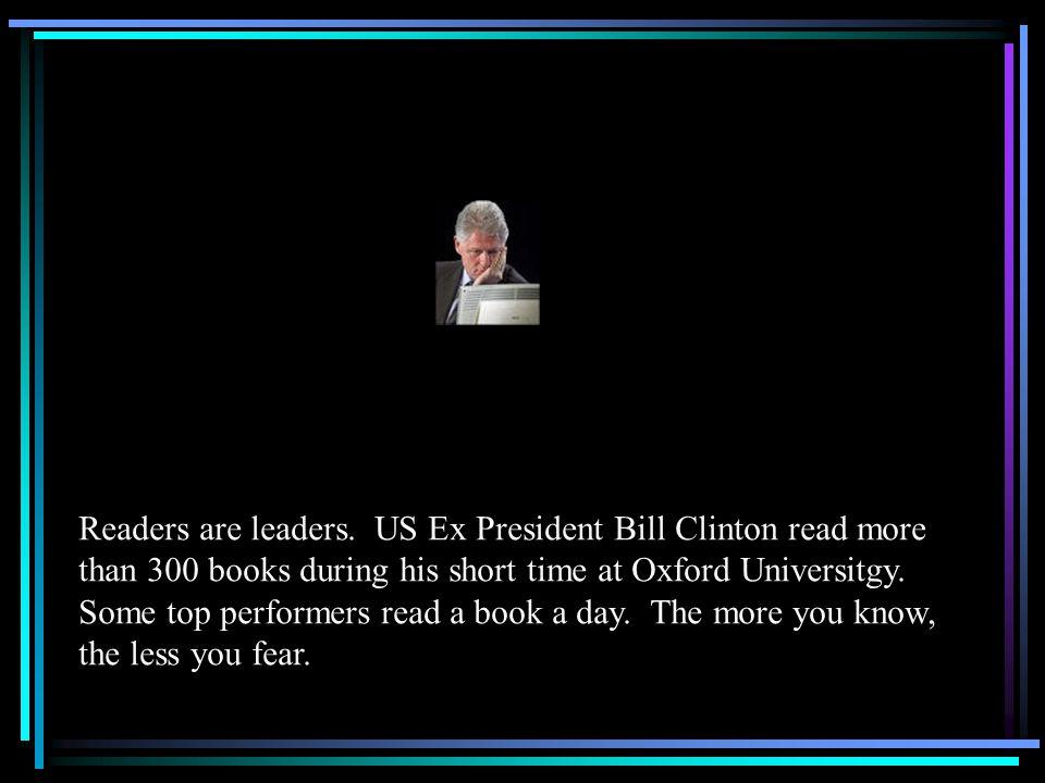 Readers are leaders.