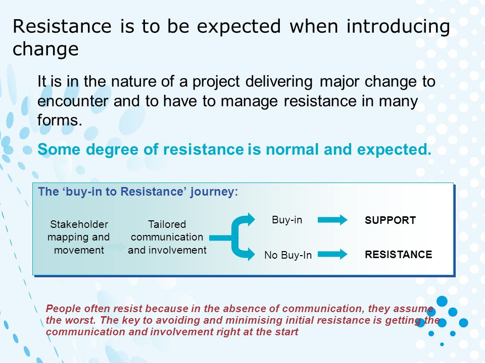 Managing change requires addressing three dimensions of change Individuals experience a wide range of emotions when going through change.