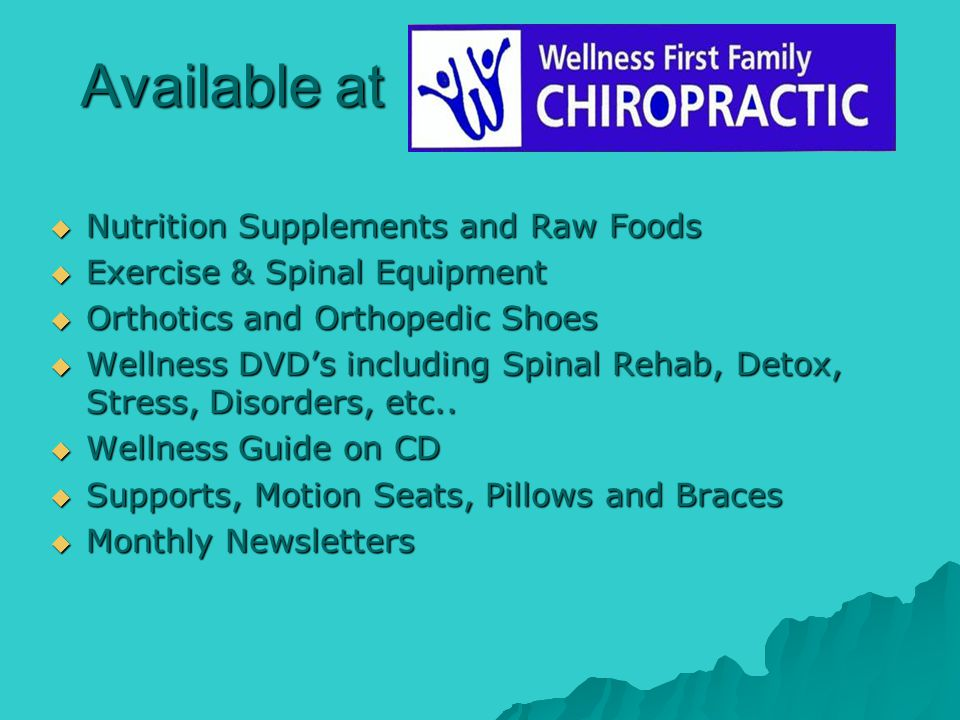 Available at Nutrition Supplements and Raw Foods Nutrition Supplements and Raw Foods Exercise & Spinal Equipment Exercise & Spinal Equipment Orthotics