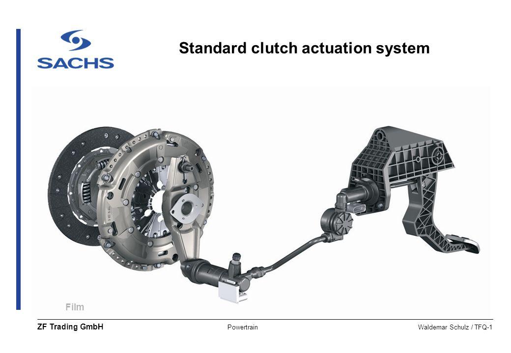 PowertrainWaldemar Schulz / TFQ-1 ZF Trading GmbH Film Standard clutch actuation system