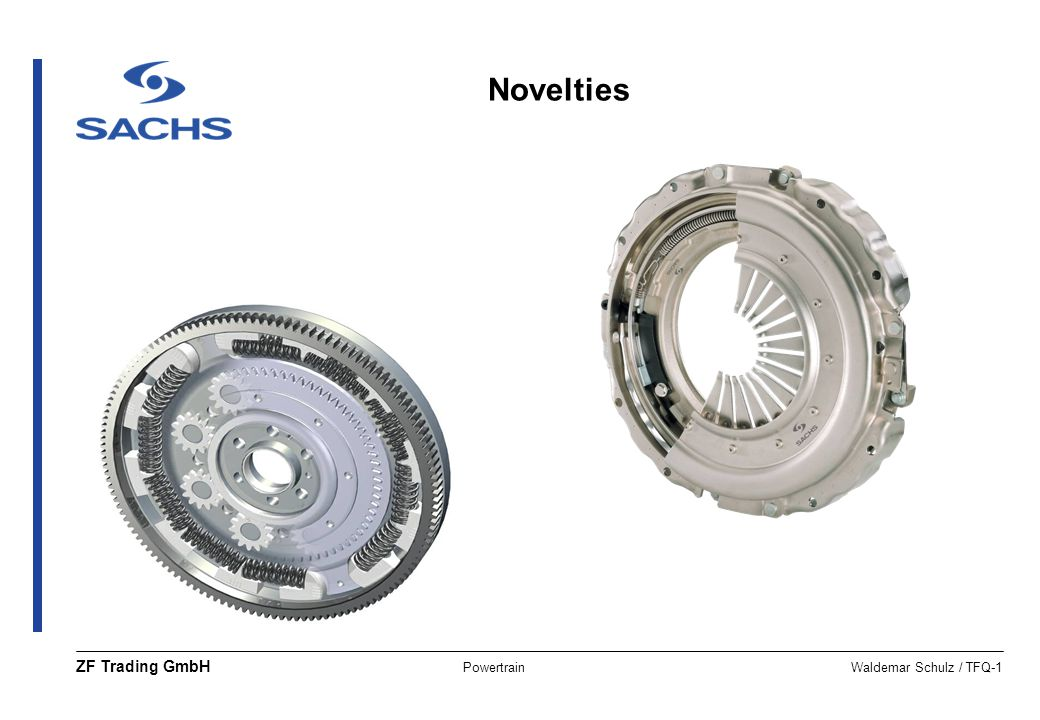 PowertrainWaldemar Schulz / TFQ-1 ZF Trading GmbH Novelties