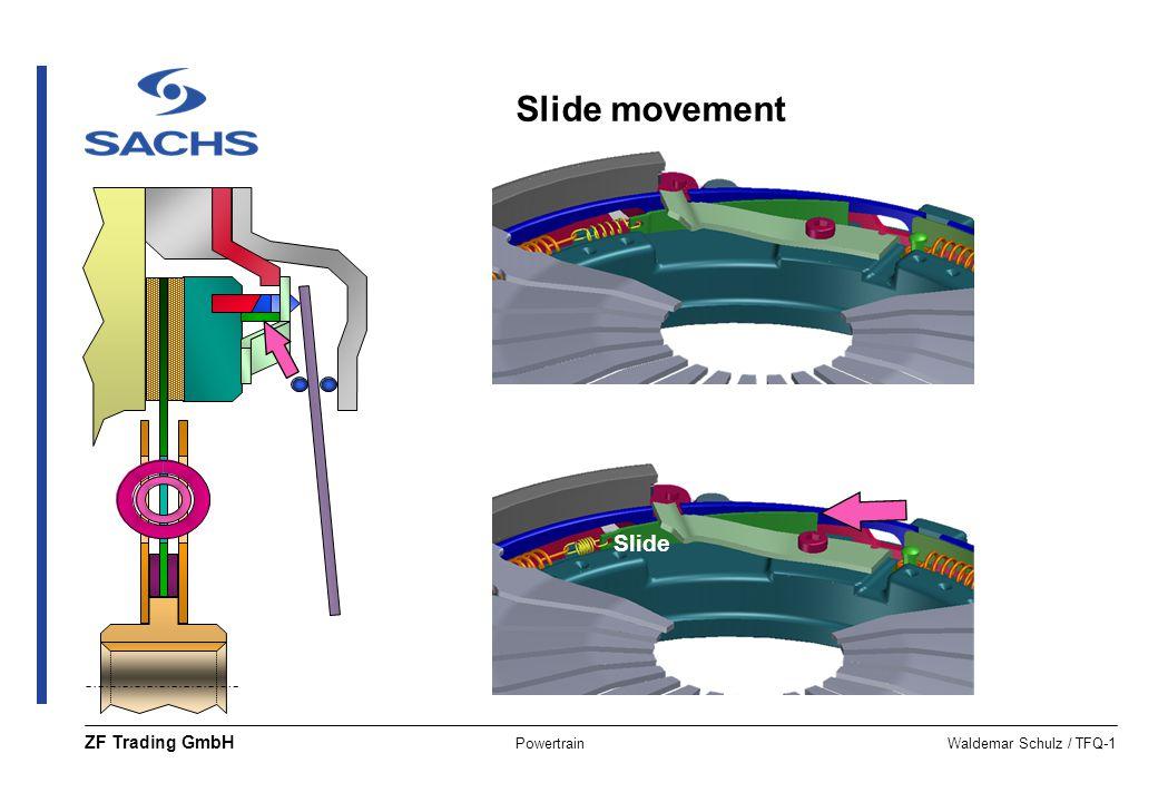 PowertrainWaldemar Schulz / TFQ-1 ZF Trading GmbH Slide Slide movement
