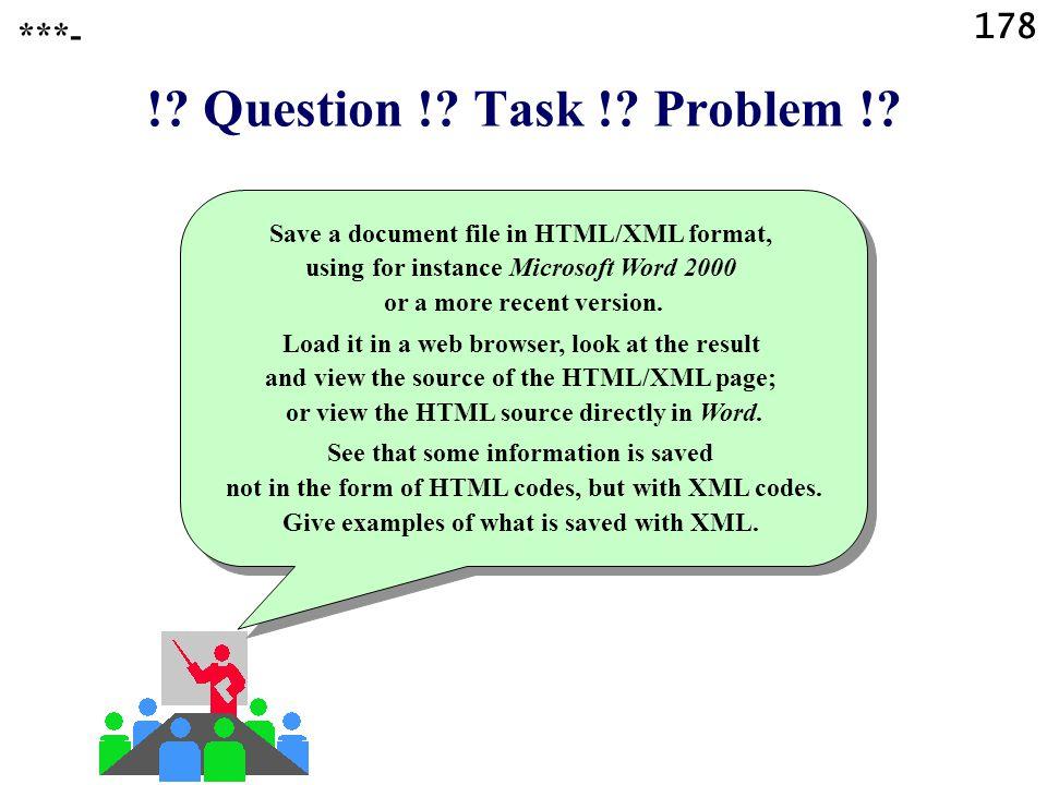 178 !. Question !. Task !. Problem !.