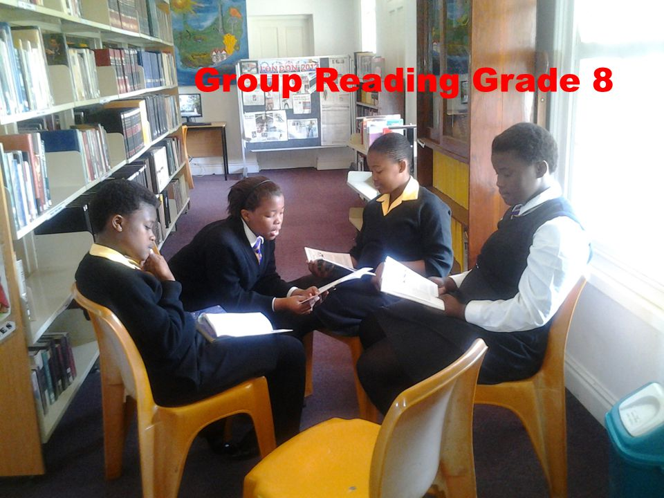 Group Reading Grade 8