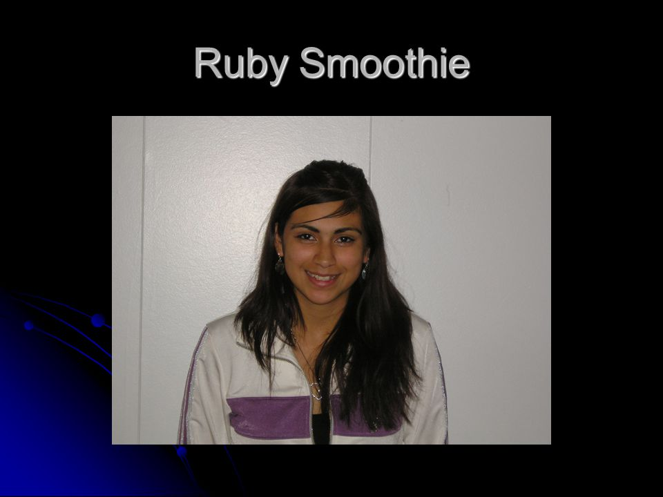 Ruby Smoothie