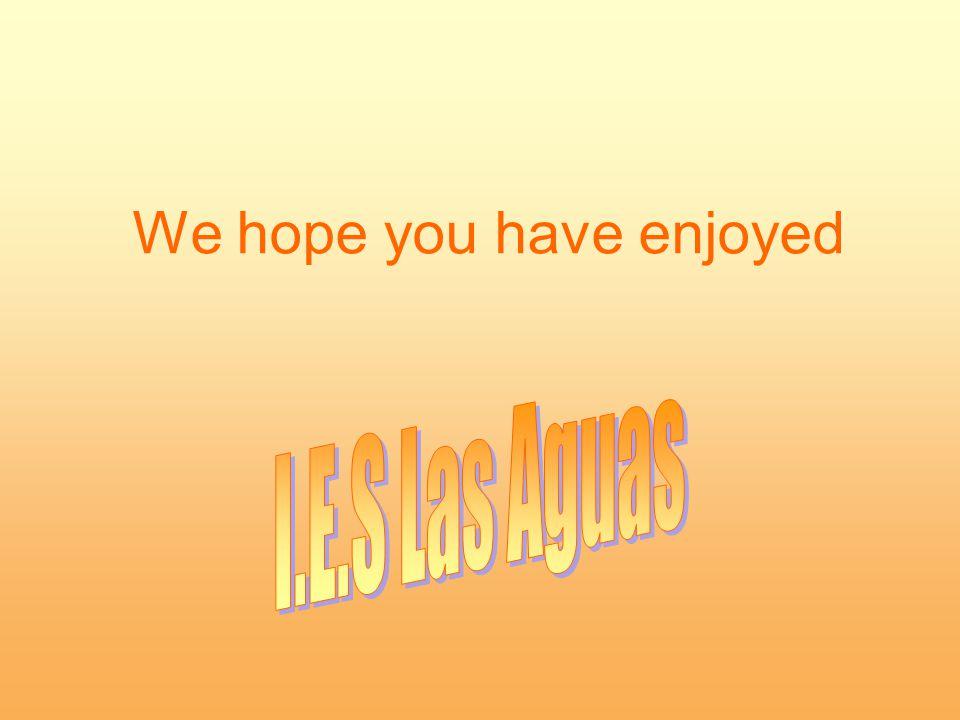 We hope you have enjoyed