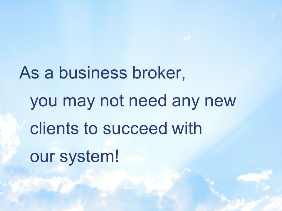 Its exciting. We help people get into business and grow their businesses safely & profitably.