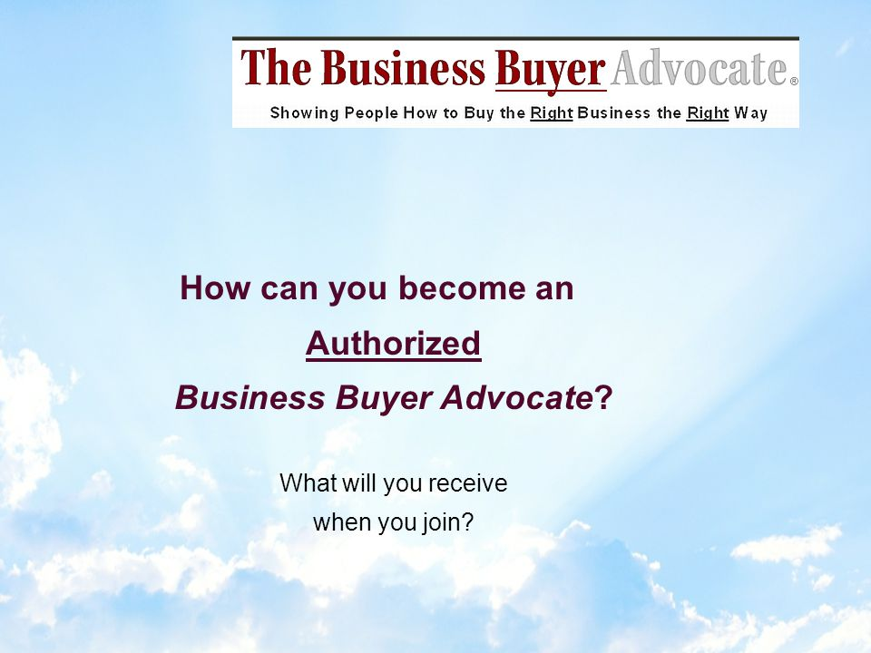 The typical buyer (unnecessarily) pays 1/3 more for a business.