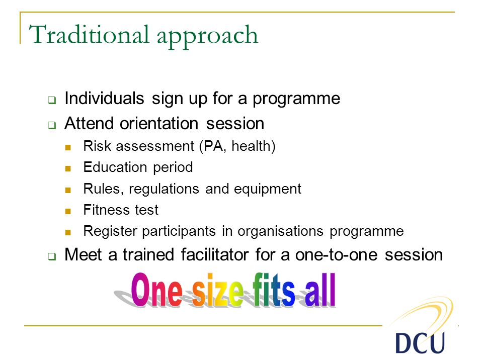 In summary… Stages 1-3 Messages Barriers assessment workshop e.g.