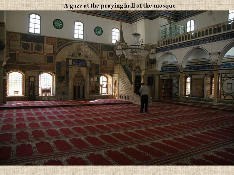 After the bathing & the purification its time to visit the great mosque of Acre - Ahmed el Jazzar mosque - on the name of the builder. The almighty ru