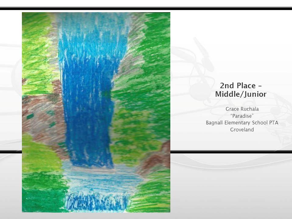 1st Place – Middle/Junior Sarah Kang Forest Sunset Hopkinton PTA Hopkinton