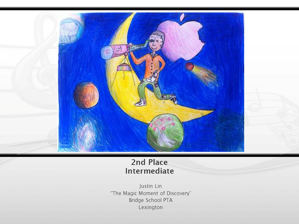 1 st Place Intermediate Shivane Pratap My First Orchestra Daniel Butler PTA Belmont