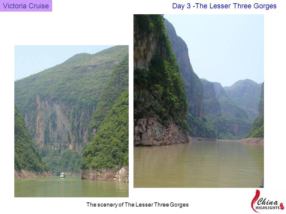Victoria Cruise The scenery of The Lesser Three Gorges Day 3 -The Lesser Three Gorges
