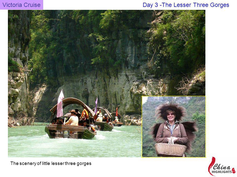 The scenery of little lesser three gorges Victoria CruiseDay 3 -The Lesser Three Gorges