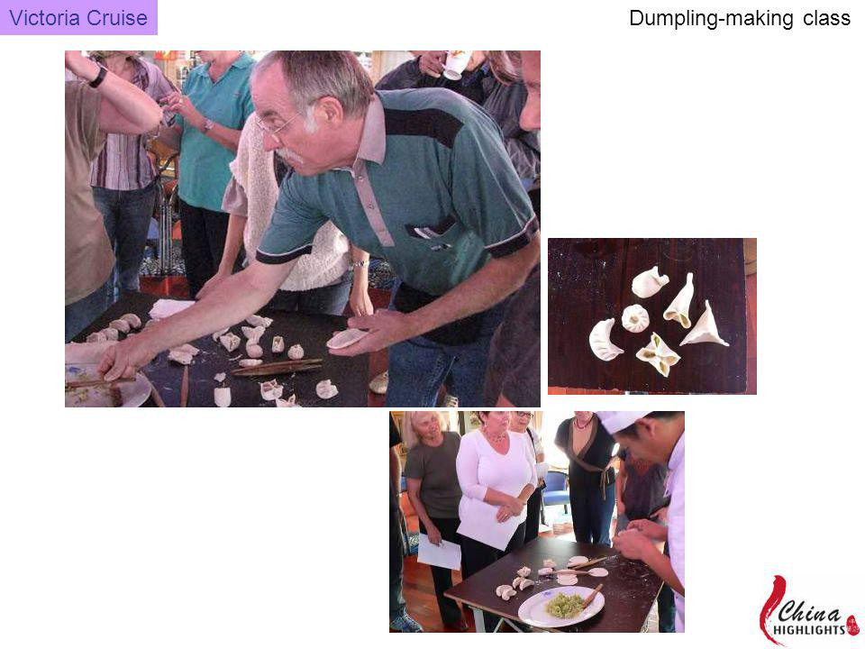 Dumpling-making class