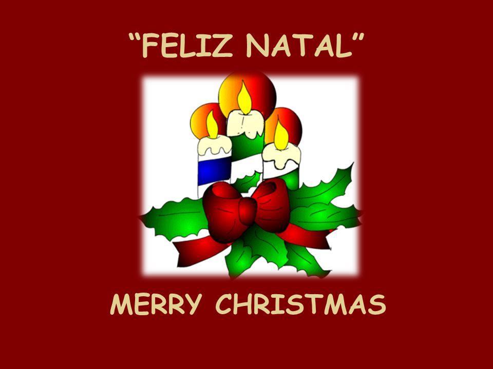 FELIZ NATAL MERRY CHRISTMAS
