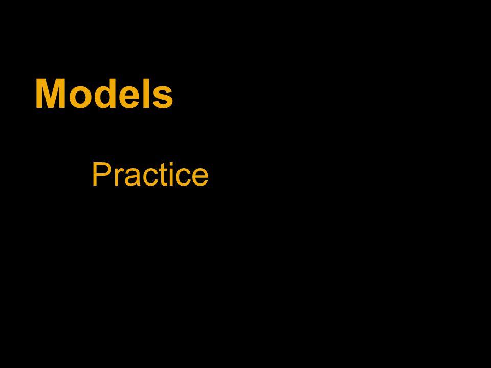Models Practice