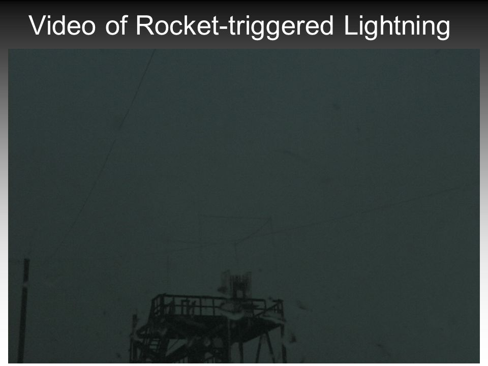 GPL Lightning Group - Physics Dept. 16 Video of Rocket-triggered Lightning