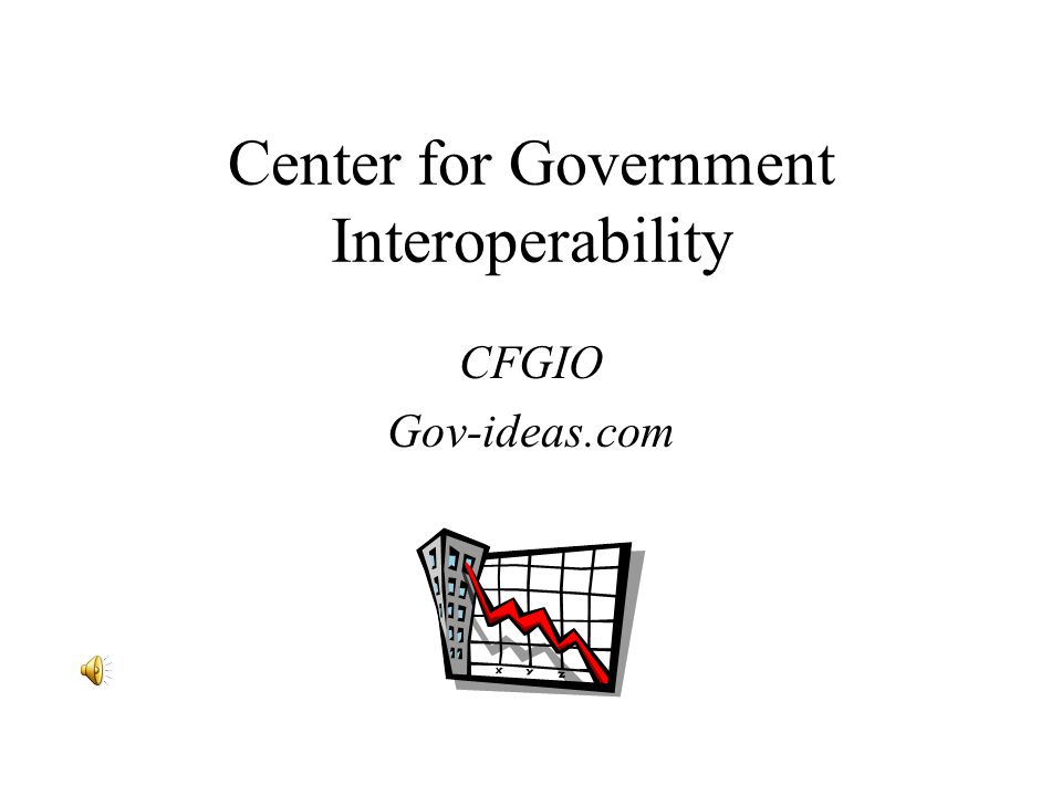 Center for Government Interoperability CFGIO Gov-ideas.com