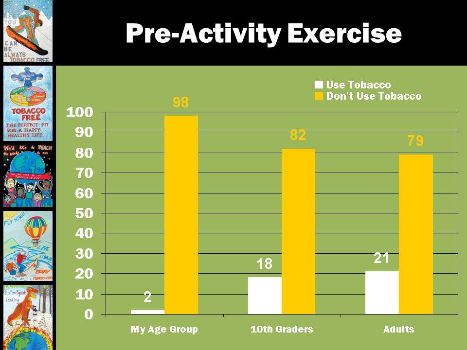 Pre-Activity Exercise