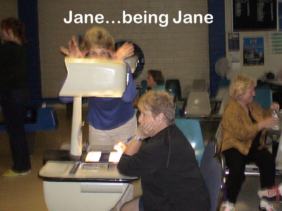 Jane…being Jane