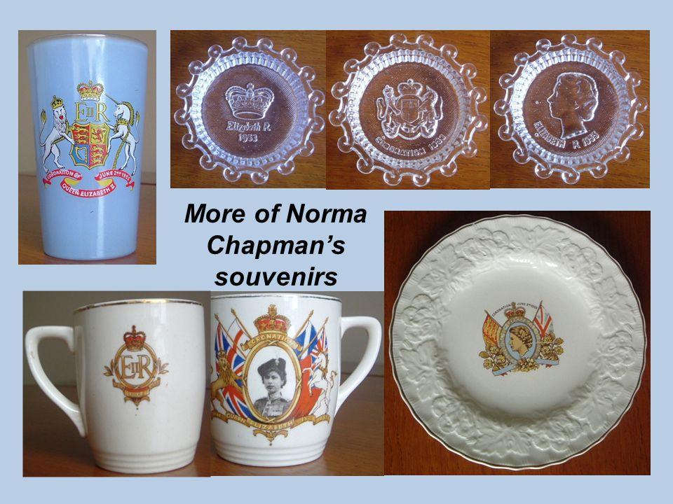 More of Norma Chapmans souvenirs