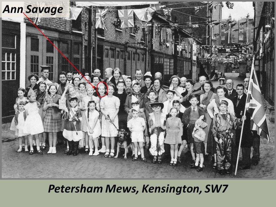 Petersham Mews, Kensington, SW7 Ann Savage