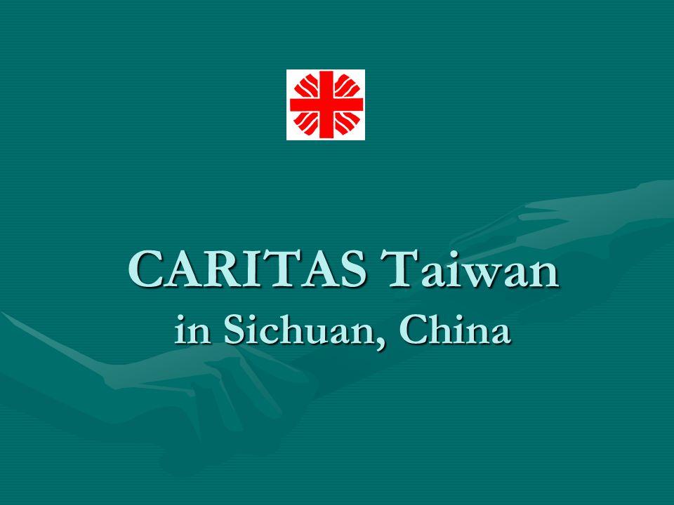 CARITAS Taiwan in Sichuan, China