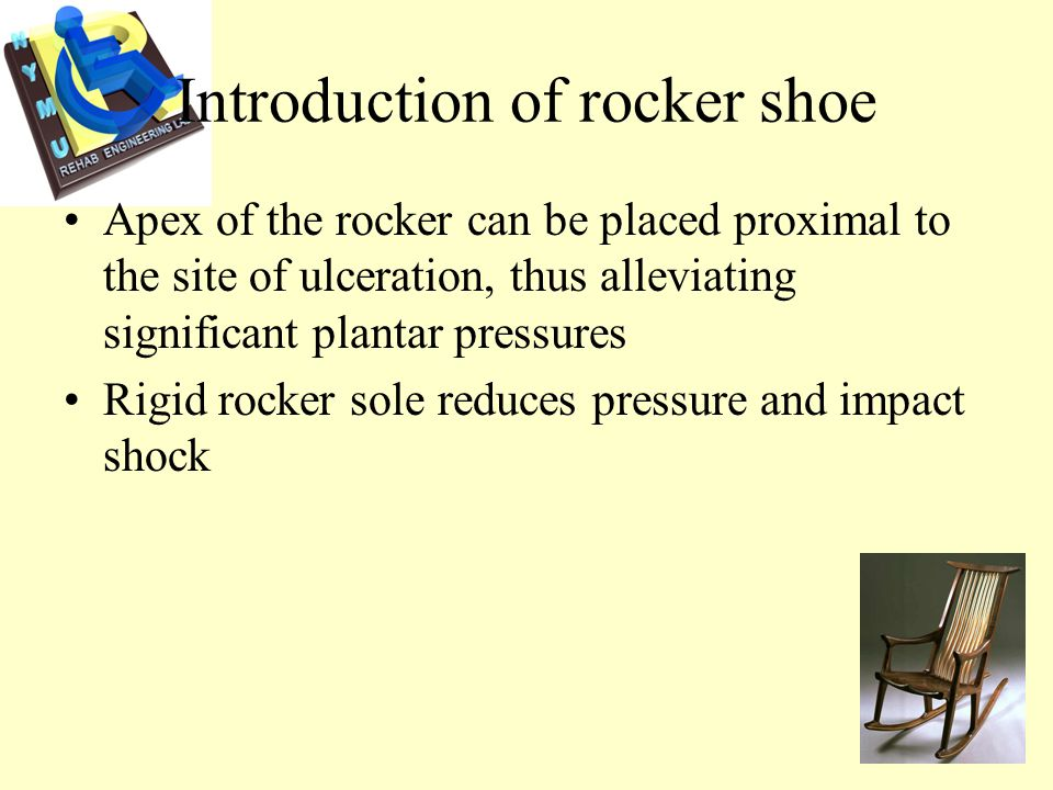 DM foot problem pressure Shear force callus ulceration necrosis amputation DM foot neuropathy vasculopathy Rocker shoes will often be prescribed for DM patient to prevent ulceration