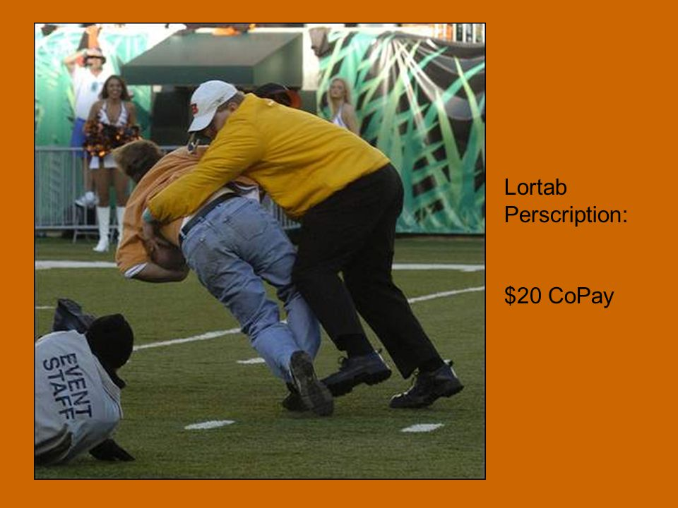Lortab Perscription: $20 CoPay