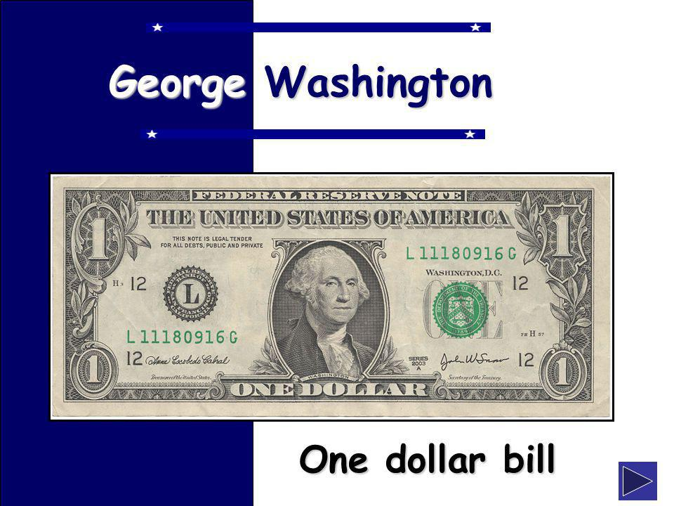 klevans2010 George Washington One dollar bill