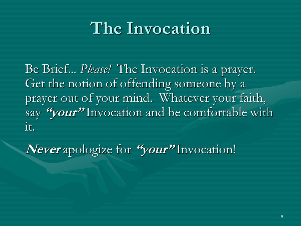 20 Introduction Potpourri Introduce = Never Met Present = A Casual Acquaintance.