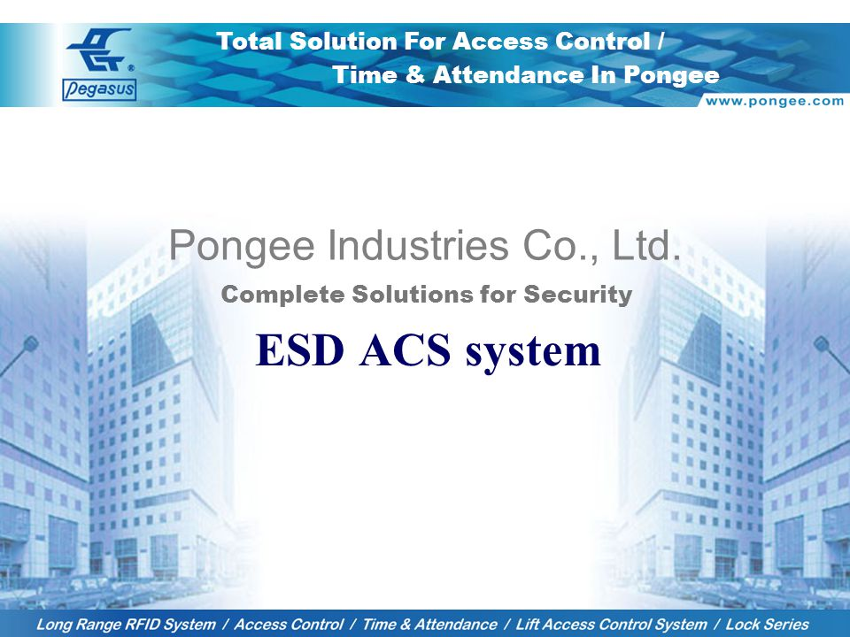1 Pongee Industries Co., Ltd.
