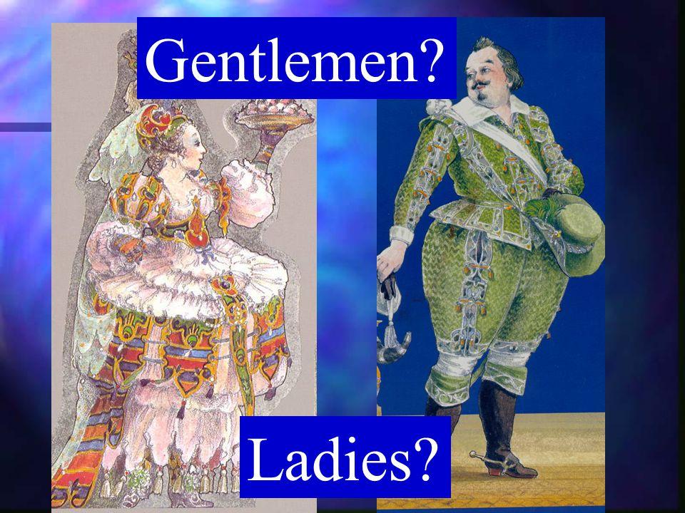 Ladies? Gentlemen?