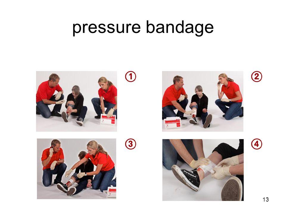 pressure bandage 13