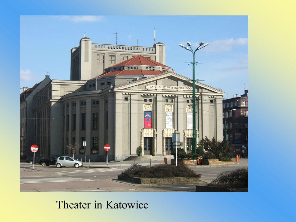 Theater in Katowice