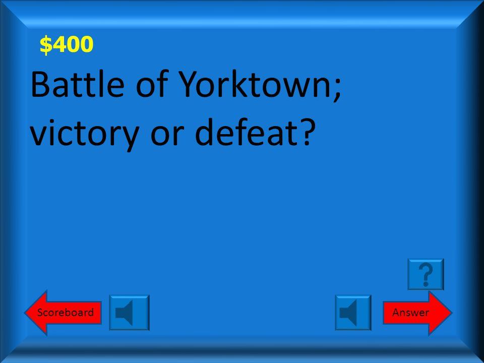 $300 Defeat Round 1