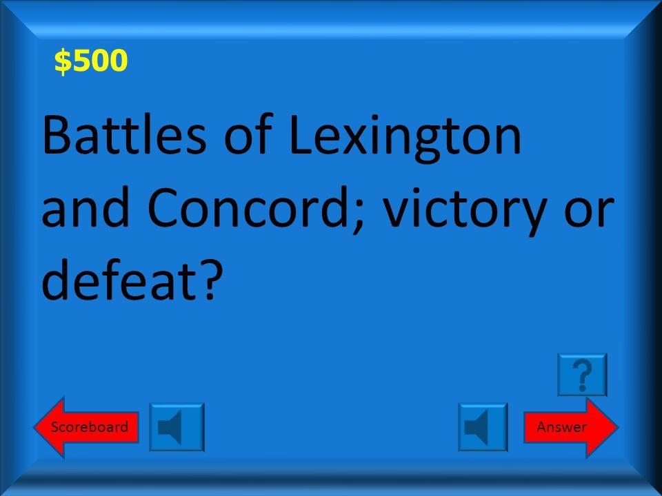 $400 Victory Round 1