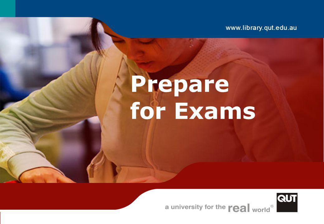 Prepare for Exams 12 Studying for exams GatherPlanDo