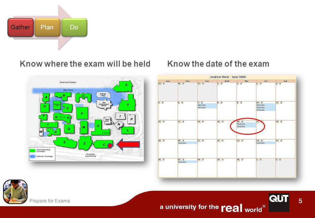Prepare for Exams 16 Avoid passive reading Study Actively Highlight Re-write Underline Map GatherPlanDo U U