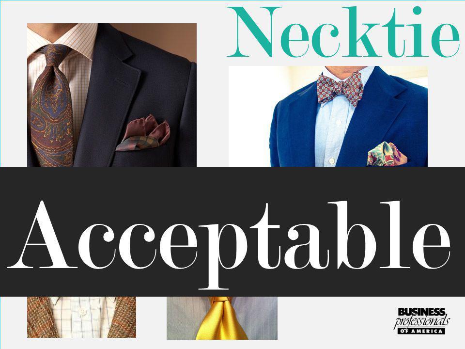 Necktie Acceptable