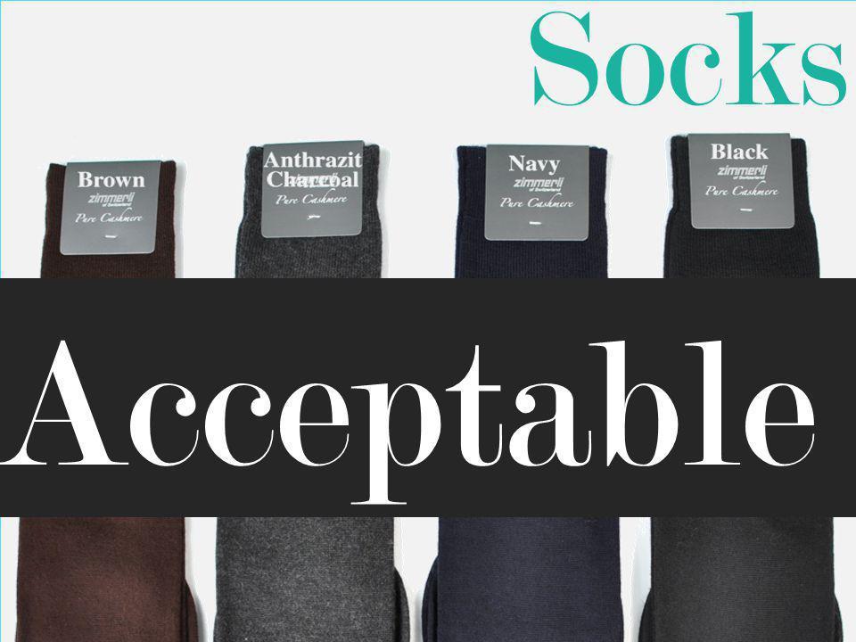 Socks Acceptable