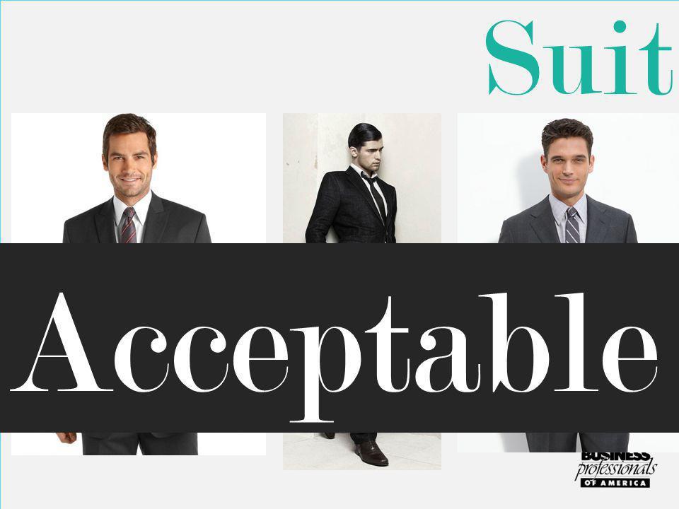 Suit Acceptable