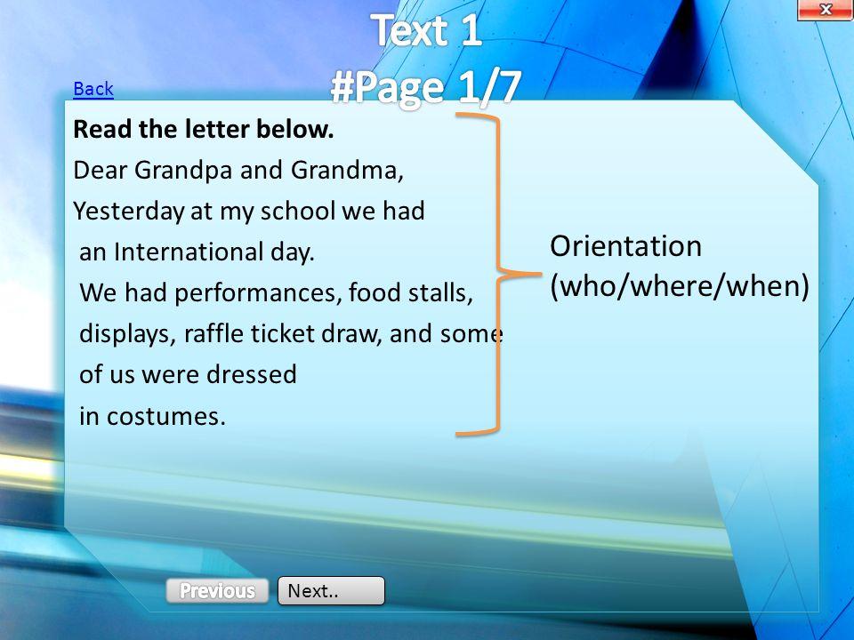 Answer Key 4.past tense Back