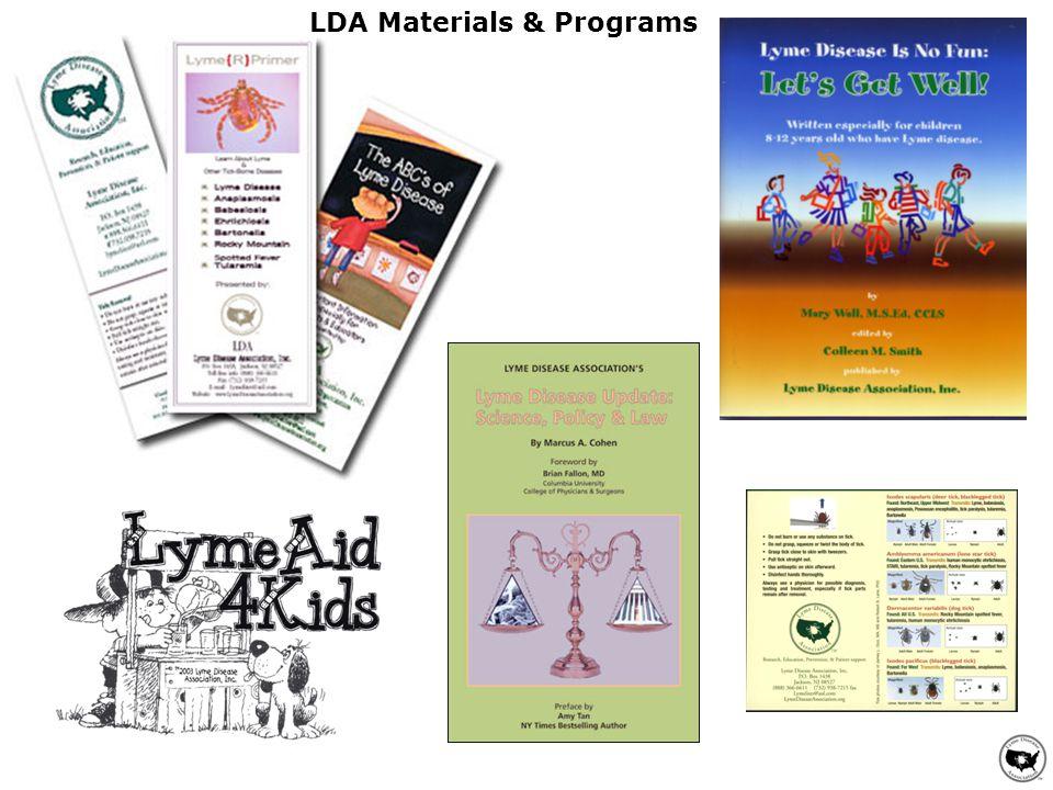 LDA Materials & Programs